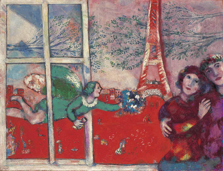 Audio: Marc Chagall's Les mariés de la Tour Eiffel