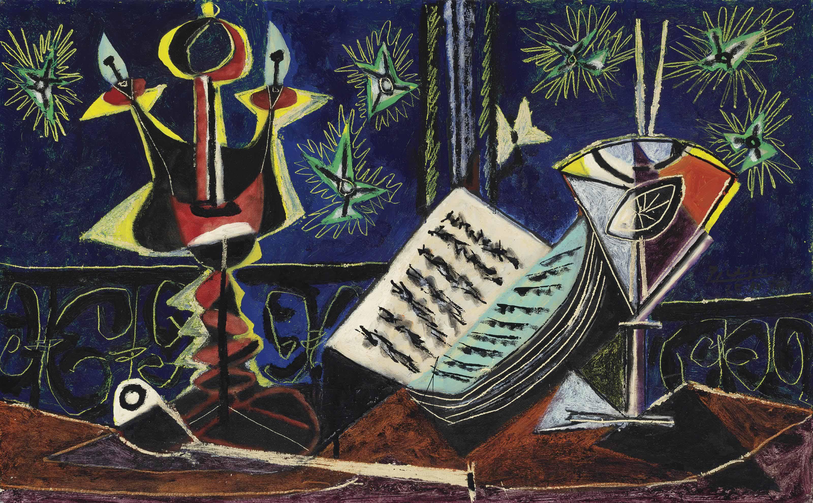 Pablo Picasso (1881-1973) | Nature morte | Christie\'s