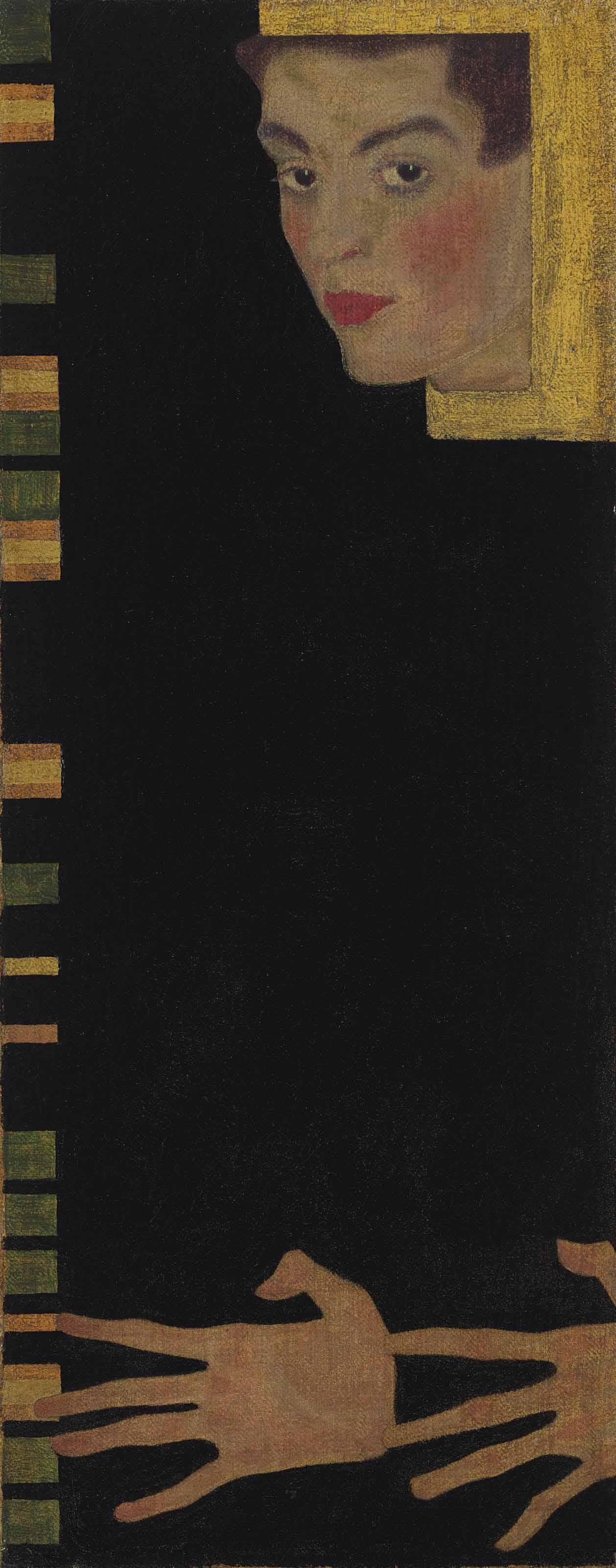 Audio: Egon Schiele's Selbstbildnis mit gespreizten Finger