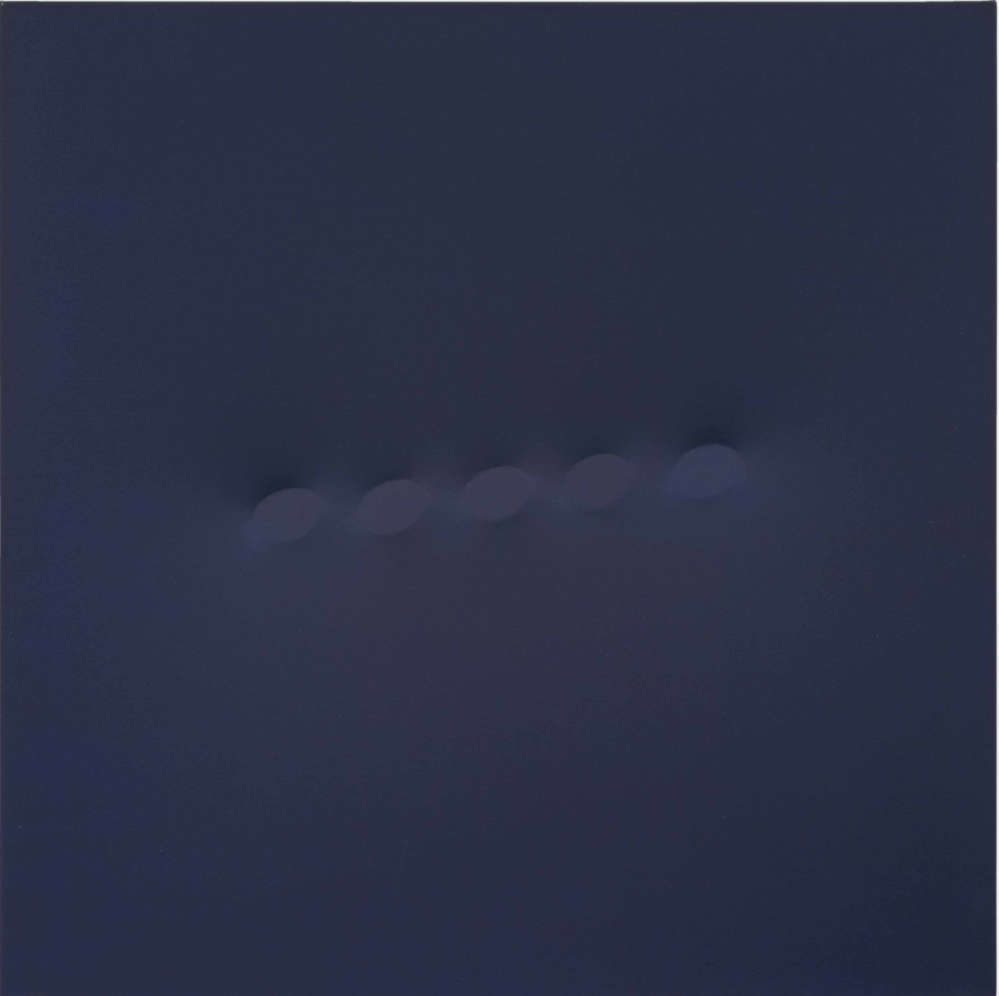 Cinque ovali blu