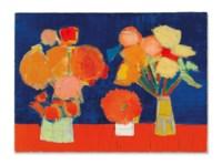 Deux Vases de Fleurs (Two Vases of Flowers)