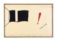 Le drapeau noir, tirage illimité (The Black Flag, Unlimited Edition)