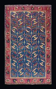 A KIRMAN 'VASE' CARPET