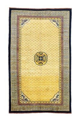 A SILK NINGXIA CARPET
