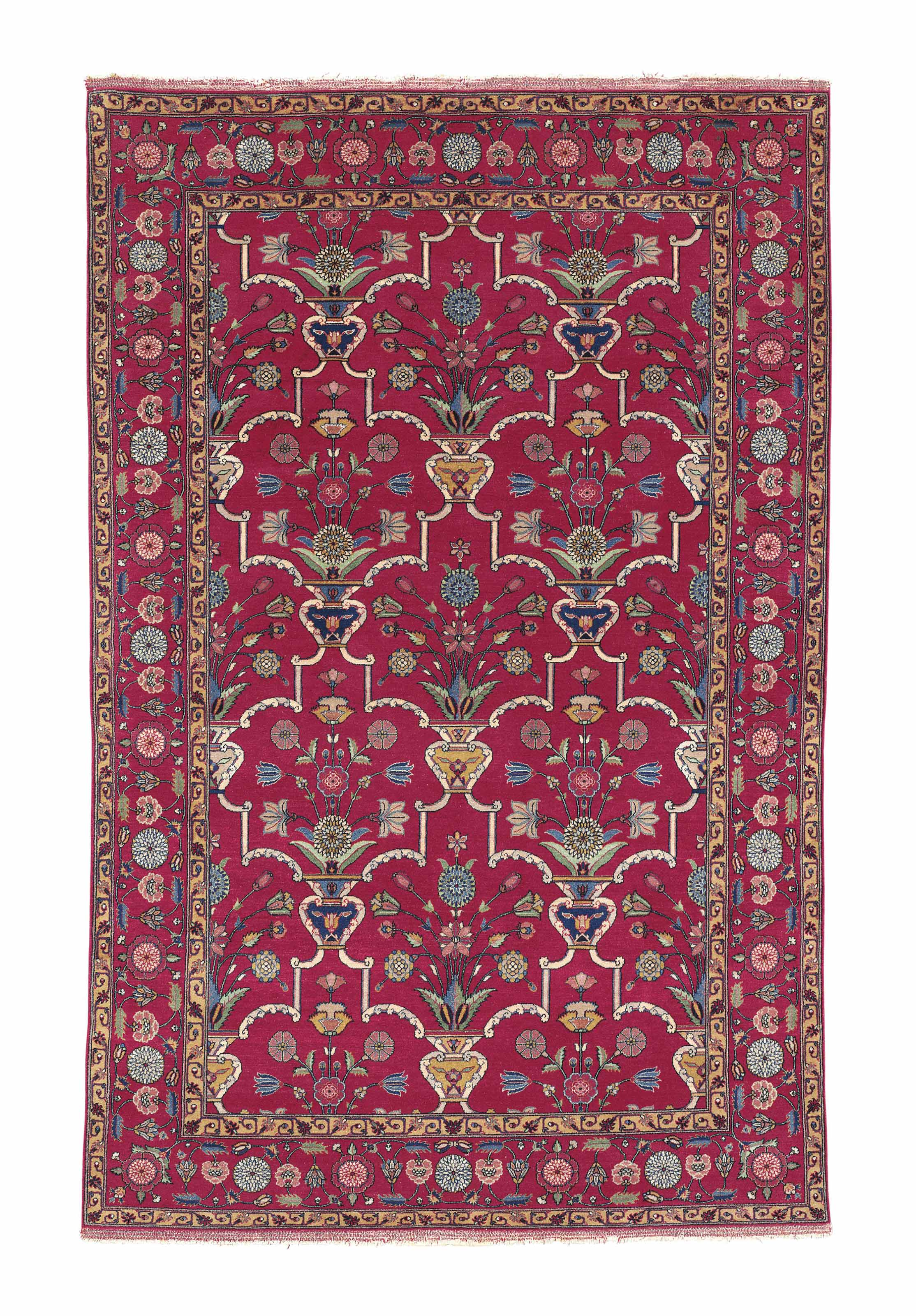 A PASHMINA INDIAN RUG