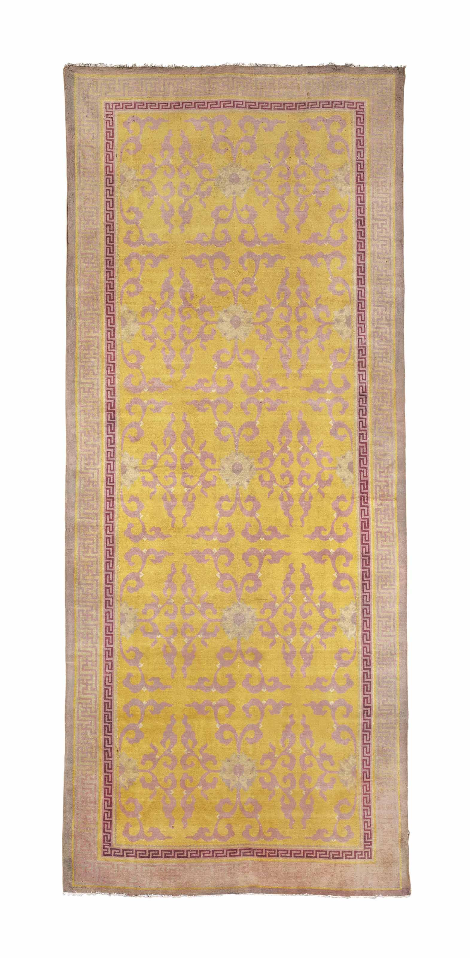 AN AMRITSAR GALLERY CARPET