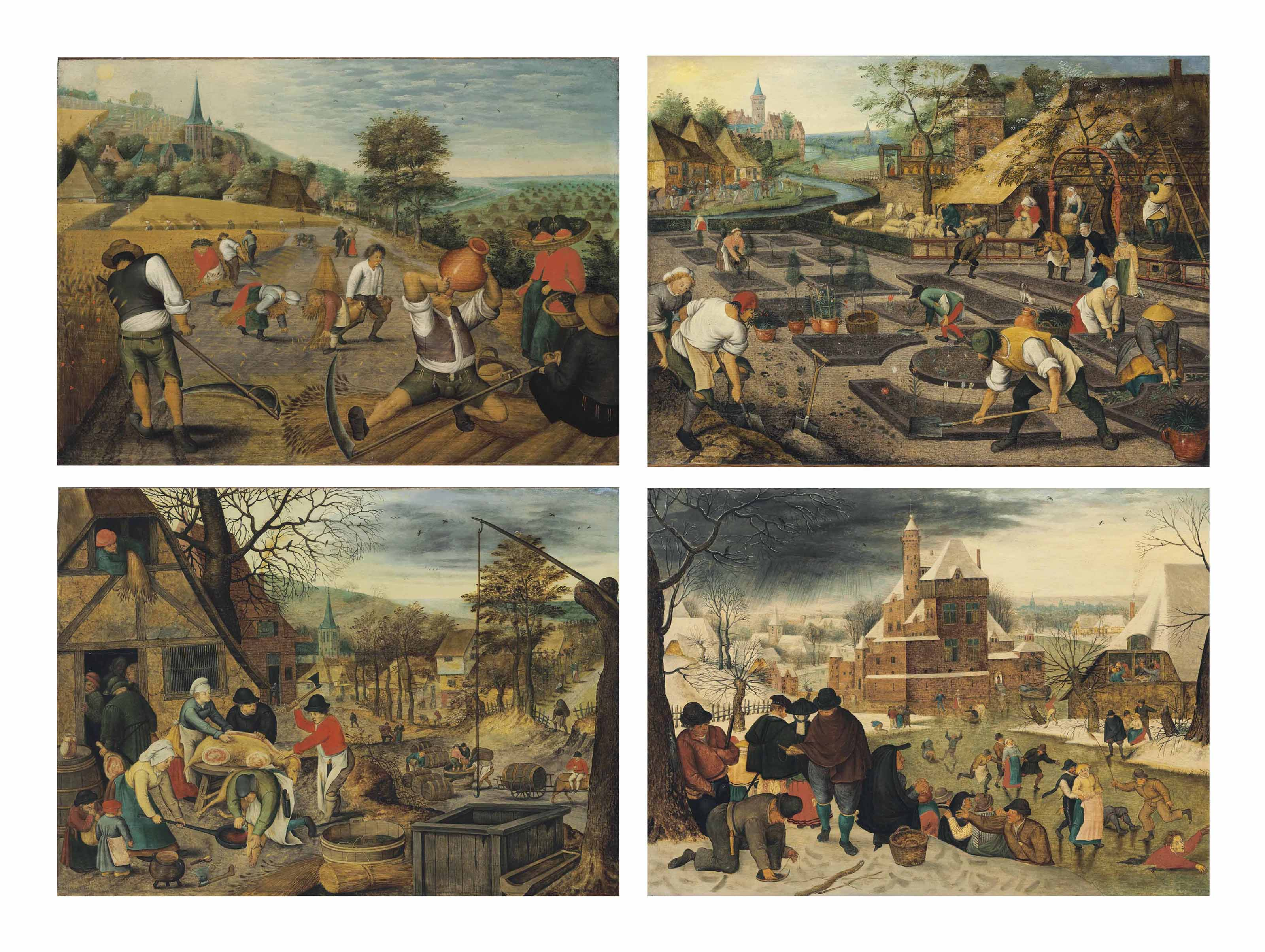 The Four Seasons: Spring; Summer; Autumn; and Winter