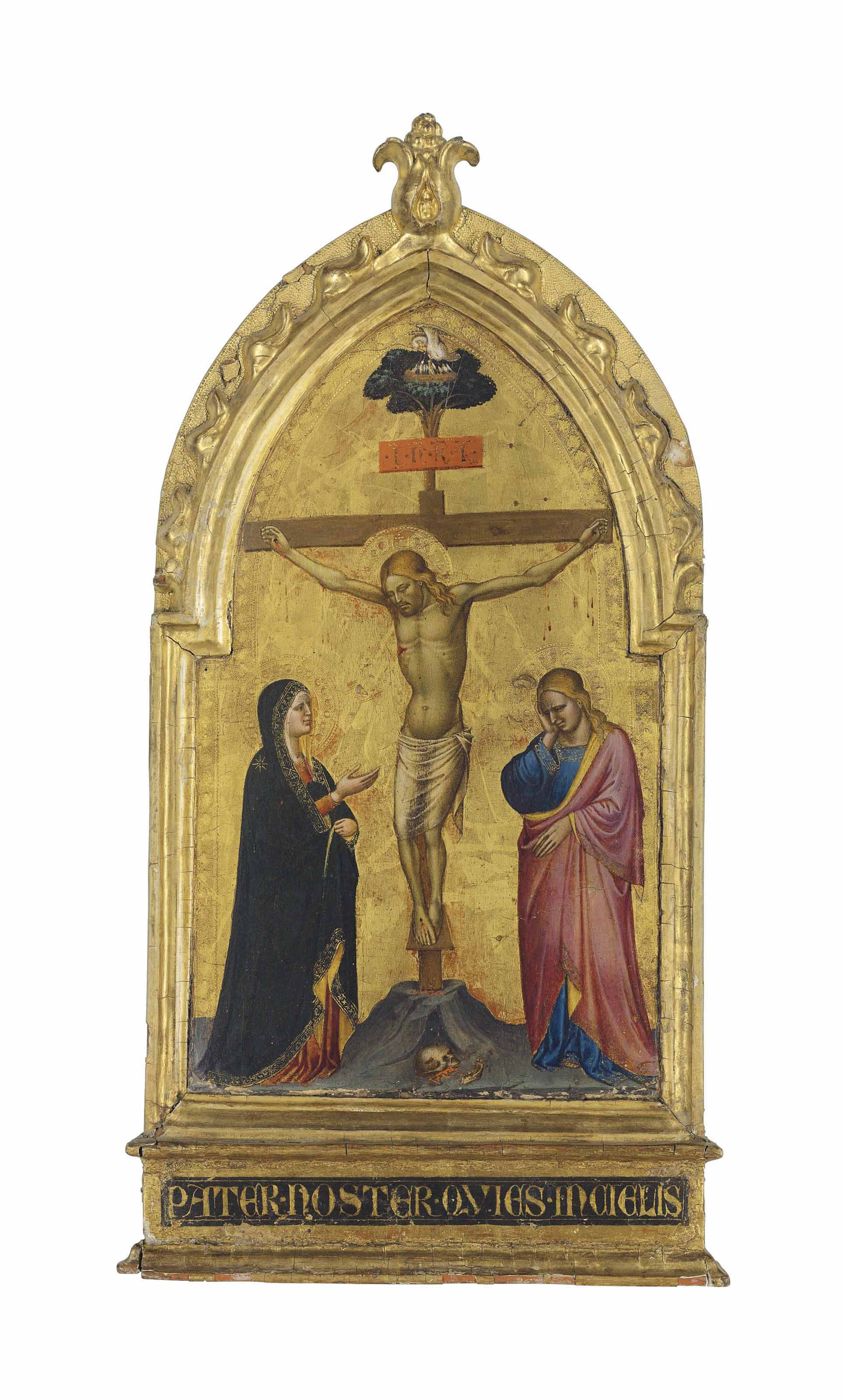 The Crucifixion with the Madonna and Saint John the Evangelist