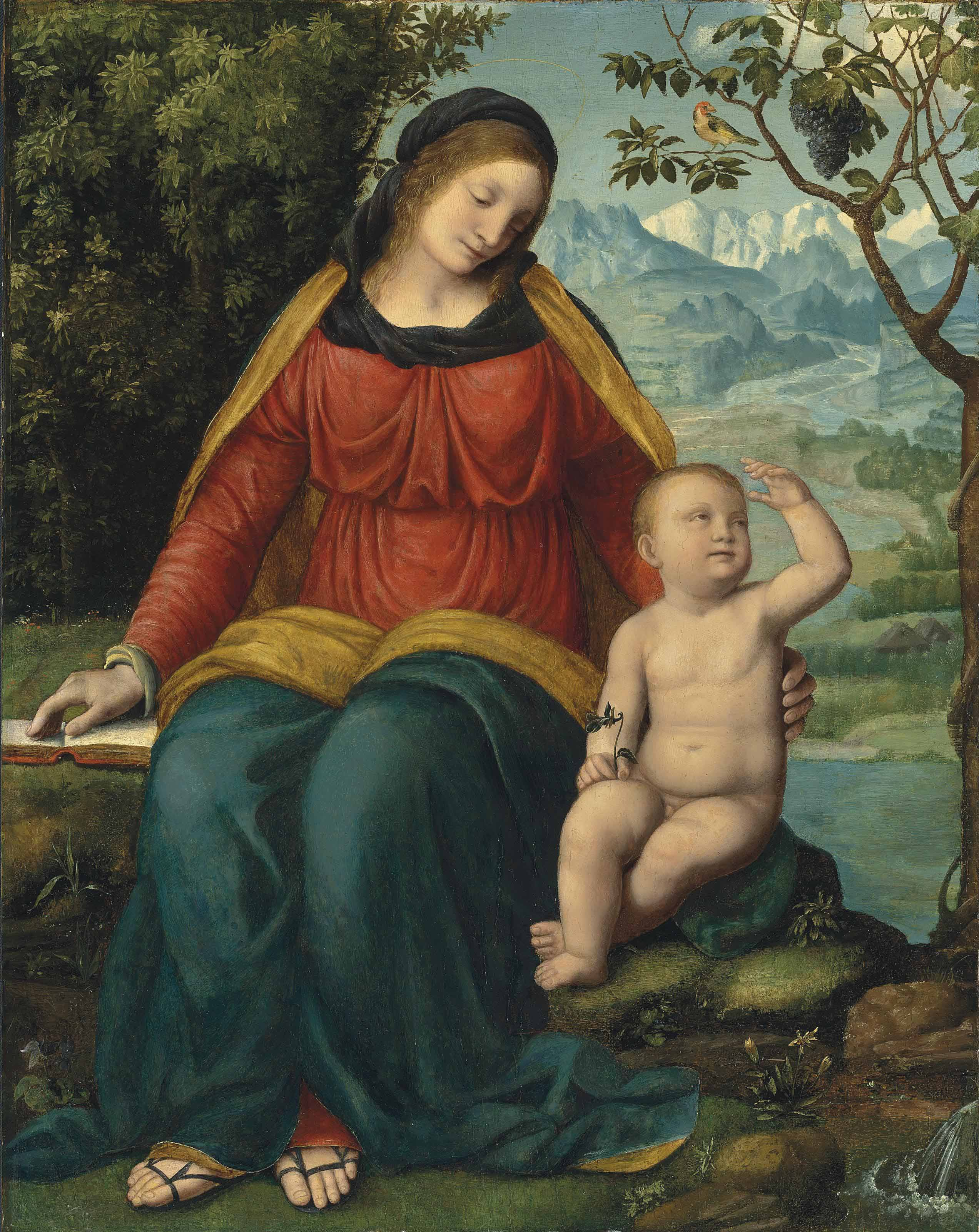 Madonna of the Grapevine