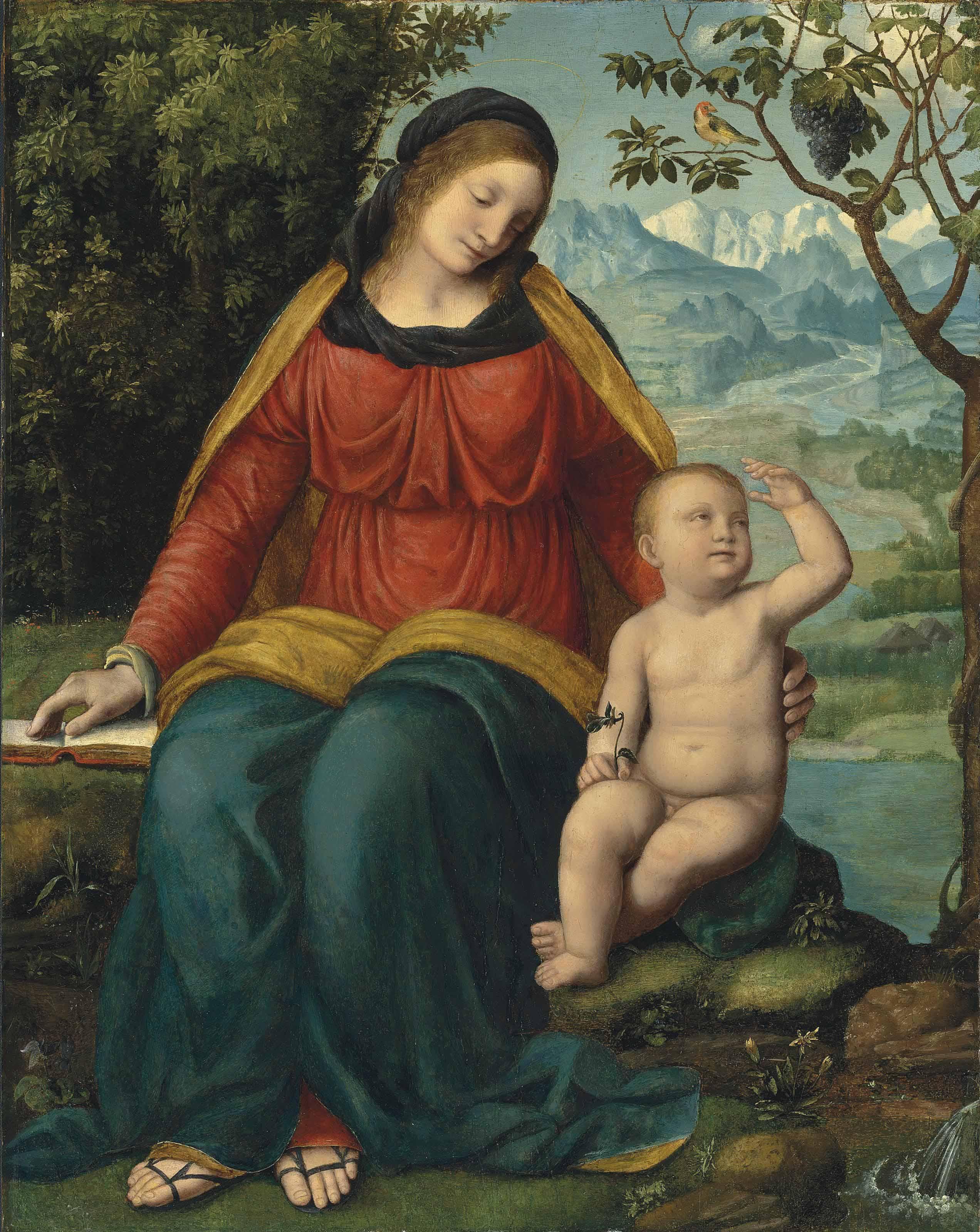 BERNARDINO LUINI (?Luini, near Milan ?1480/85-1532 ?Lugano)