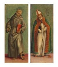 Saint Francis of Assisi; and Saint Nicholas of Bari