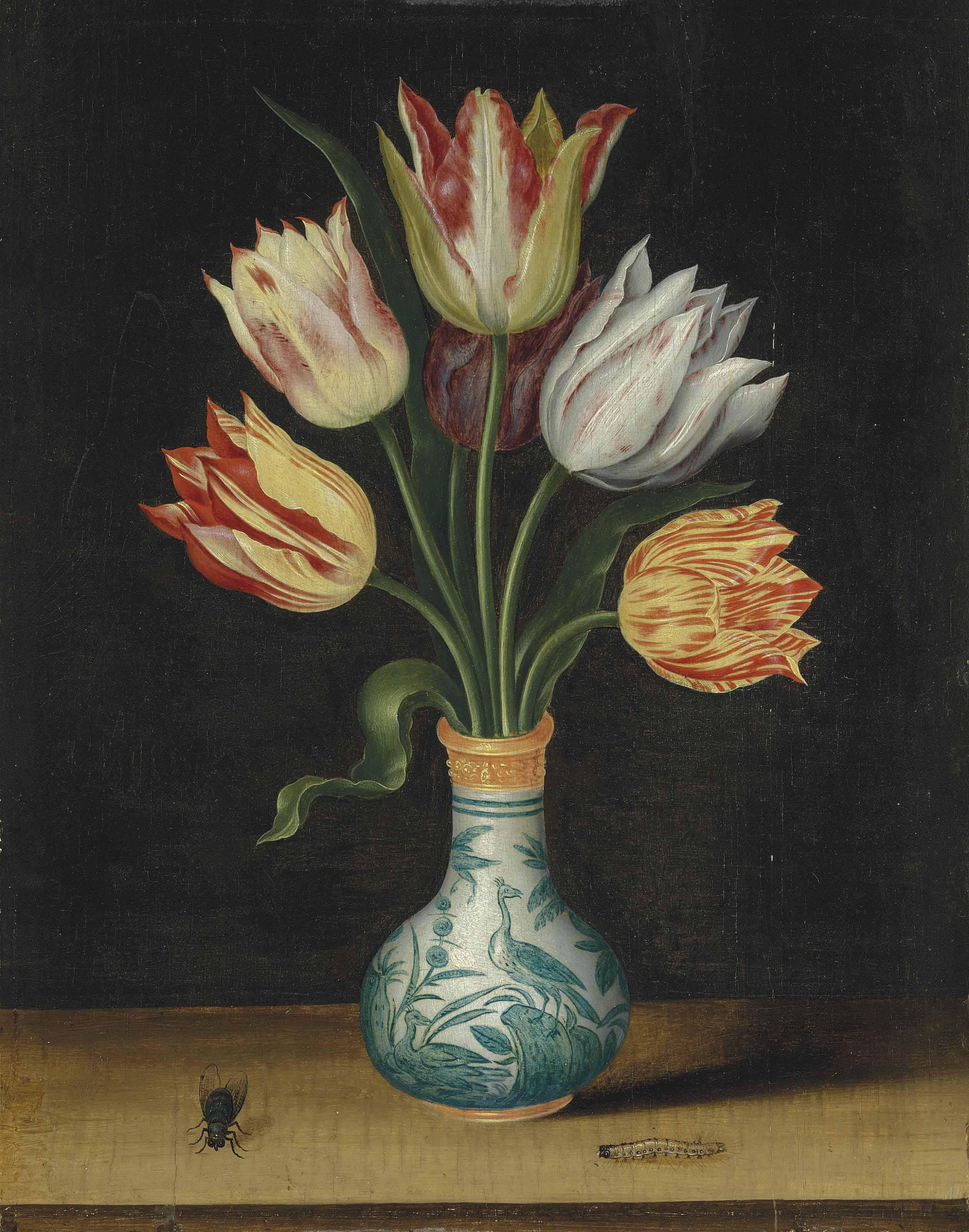 Circle of Ambrosius Bosschaert I (Antwerp 1573-1621 The Hague)