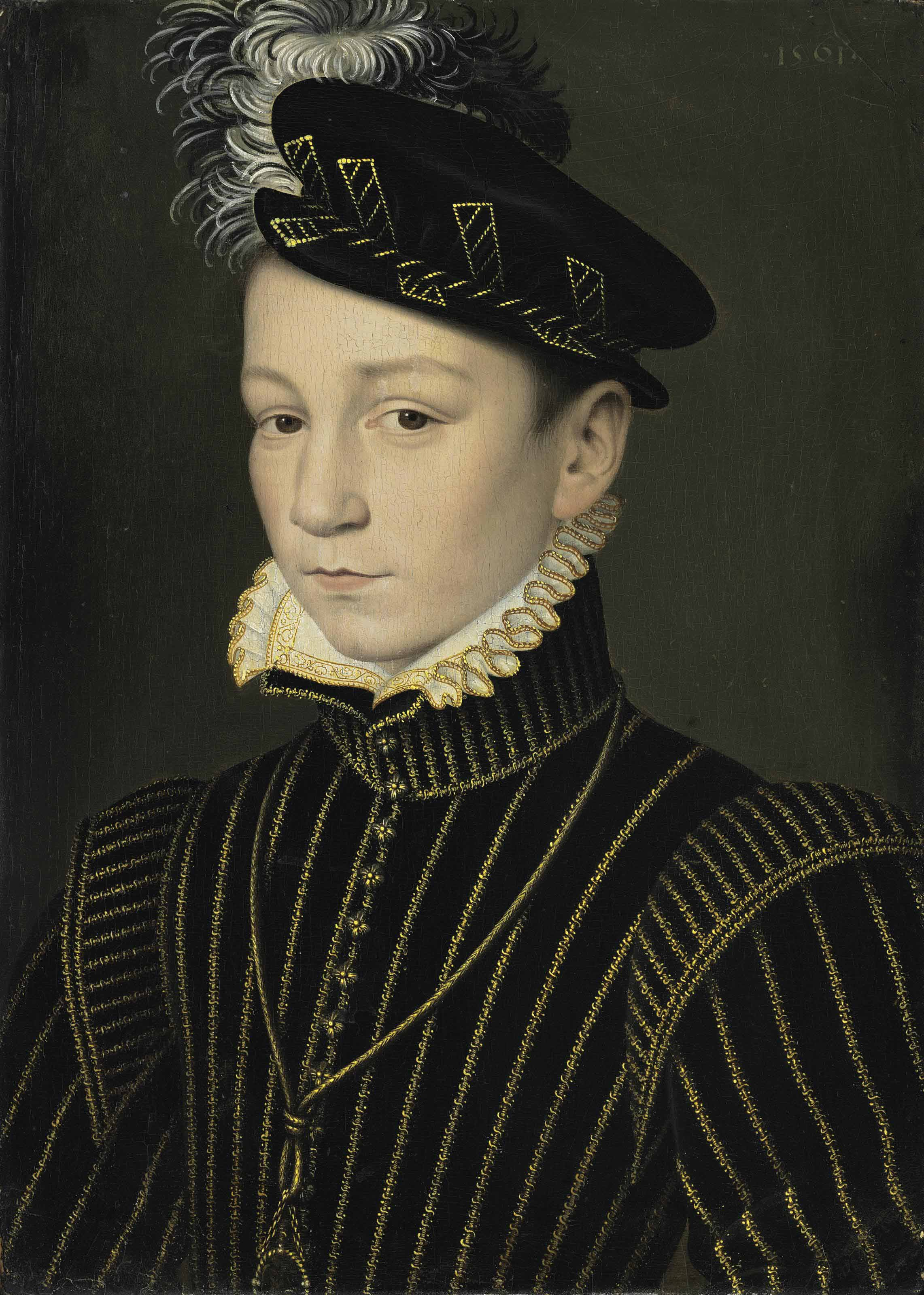 Portrait of King Charles IX of France (1550-1574)