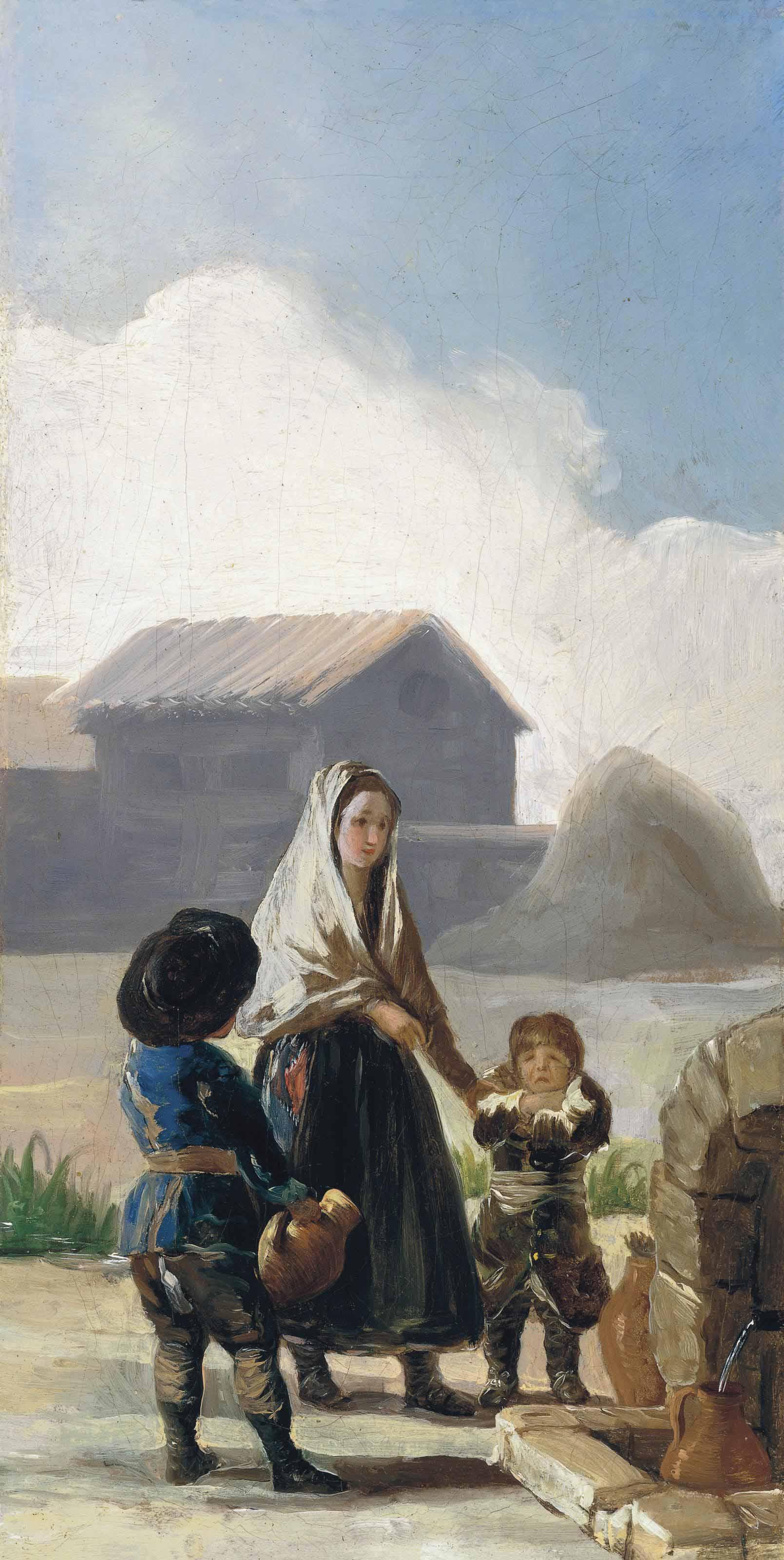 Francisco de Goya y Lucientes (Fuendetodos 1746-1828 Bordeaux)