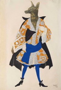 Costume design for 'La Belle au Bois Dormant': Le Loup