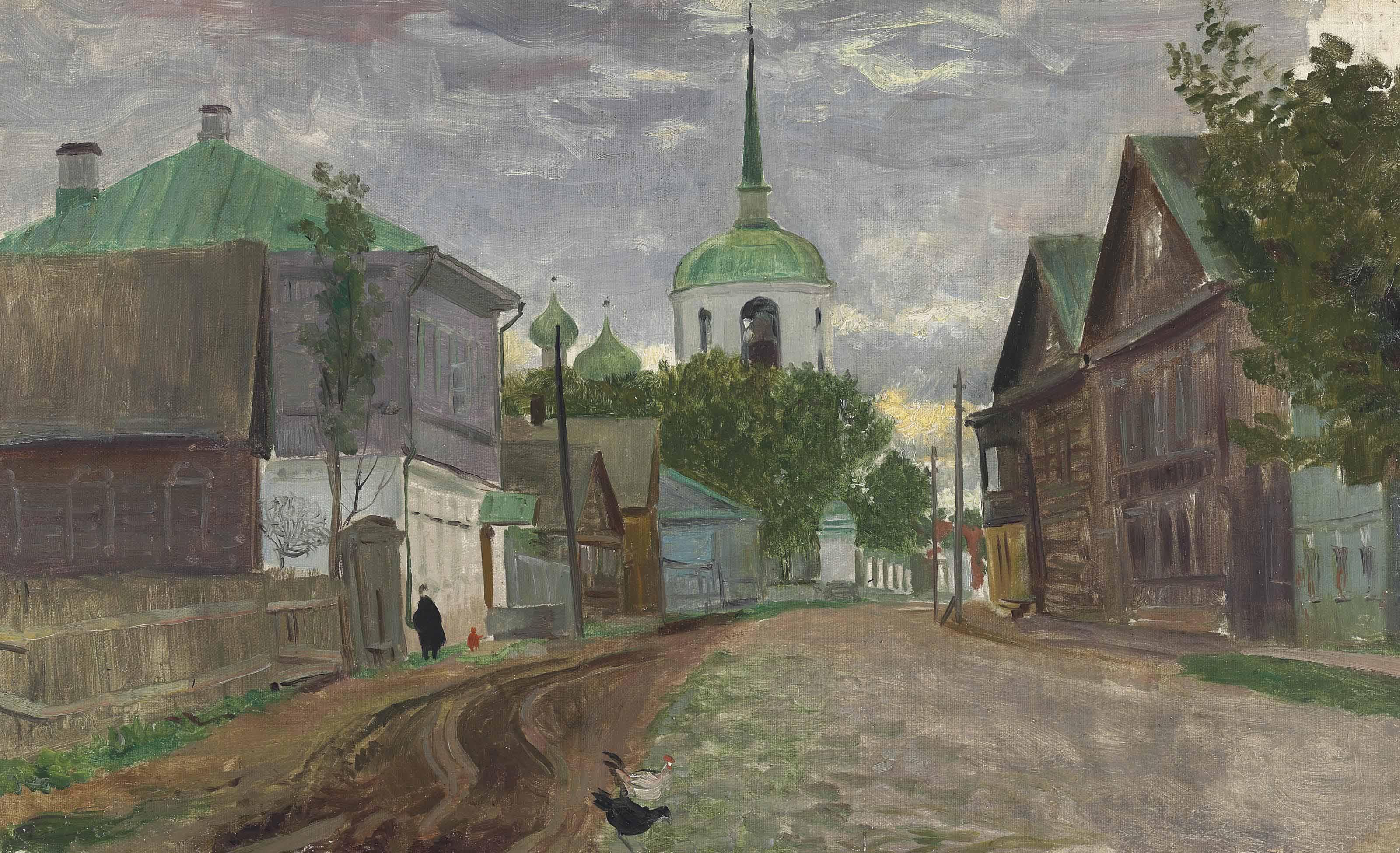 A street in Staraya Russa