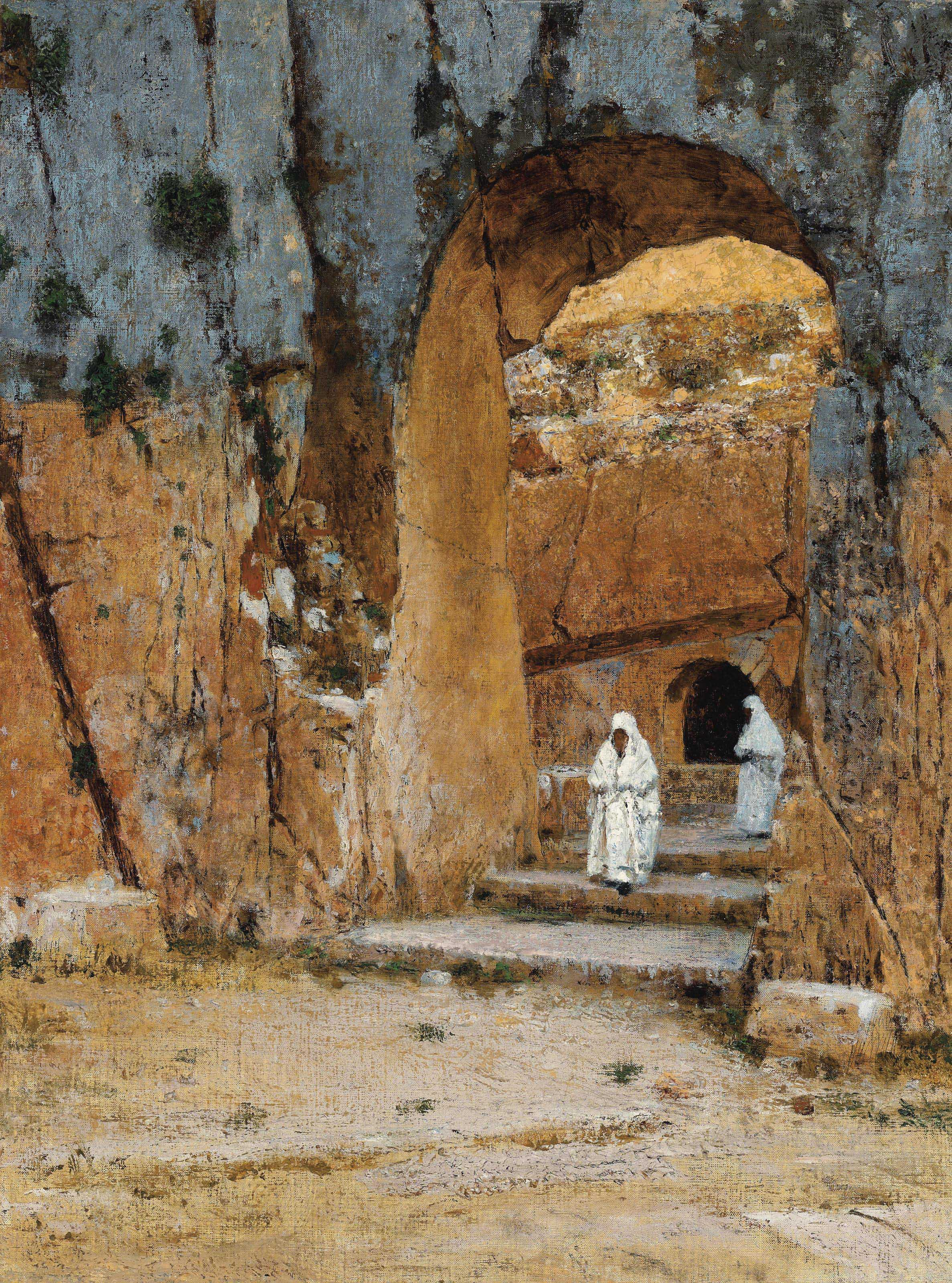 Entrance to the Tomb of the Kings