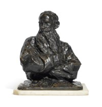 BUST OF COUNT LEV TOLSTOY