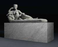 A life-size figure of Pauline Borghese as Venus Victrix