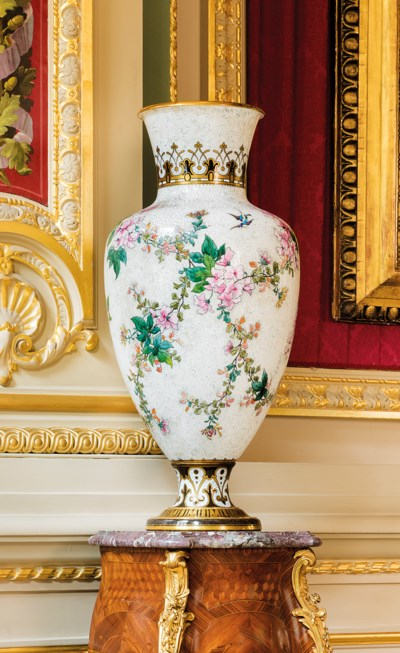 A SÈVRES (HARD PASTE) PORCELAI