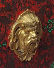 A FRENCH ORMOLU-MOUNTED CUT-BR