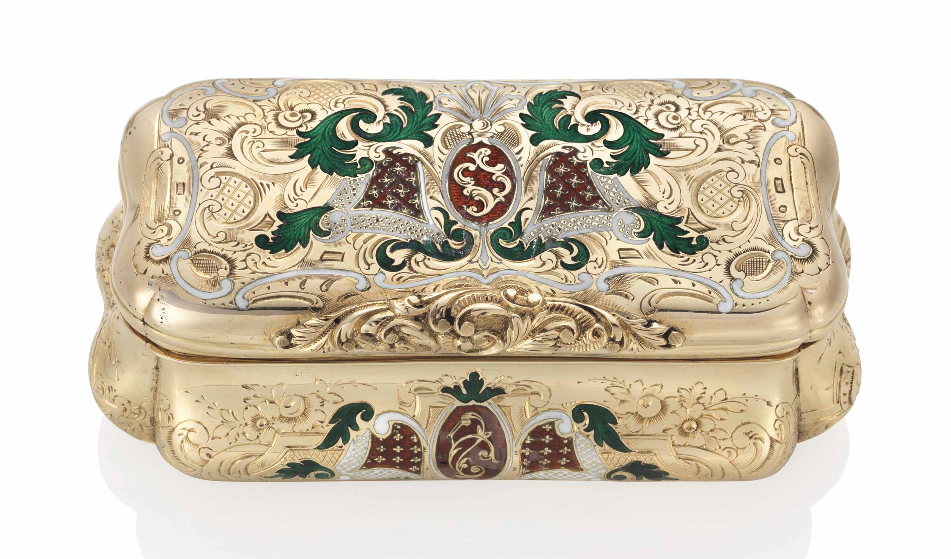 a german enamelled gold snuff box in the manner of carl martin weishaupt s hne fl from. Black Bedroom Furniture Sets. Home Design Ideas