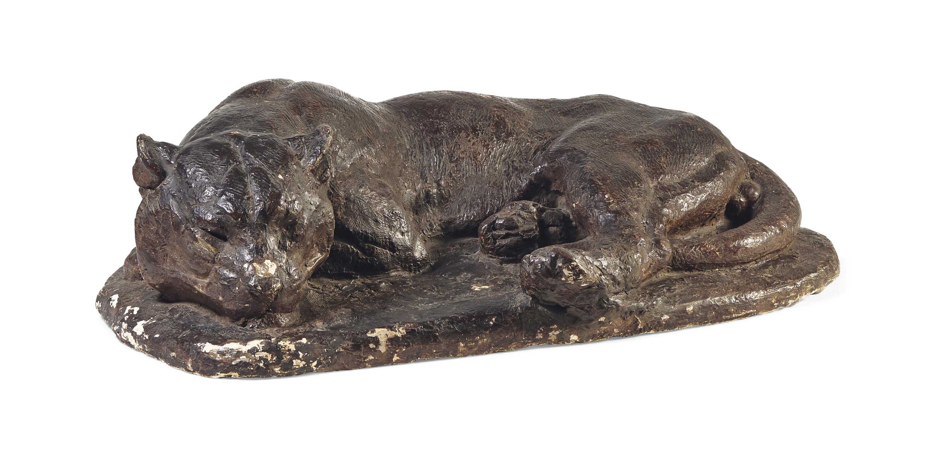 Jaguar dormant (Jaguar sleeping)