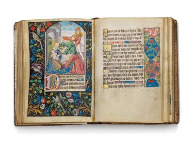BOOK OF HOURS, use of Auxerre,