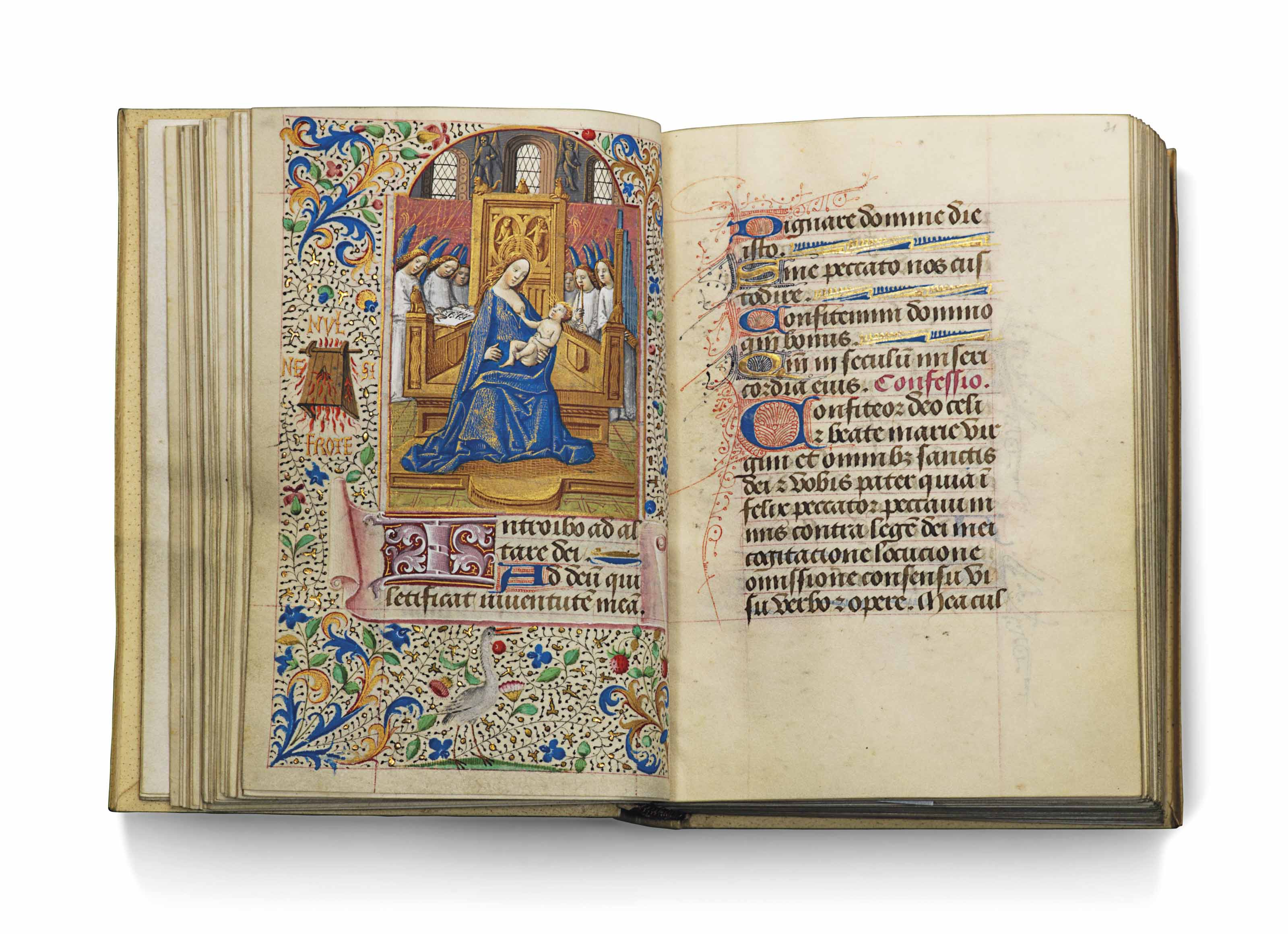 BOOK OF HOURS OF ANTHONY OF BU