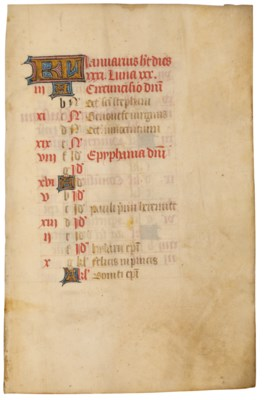 BOOK OF HOURS, use of Chalon-s