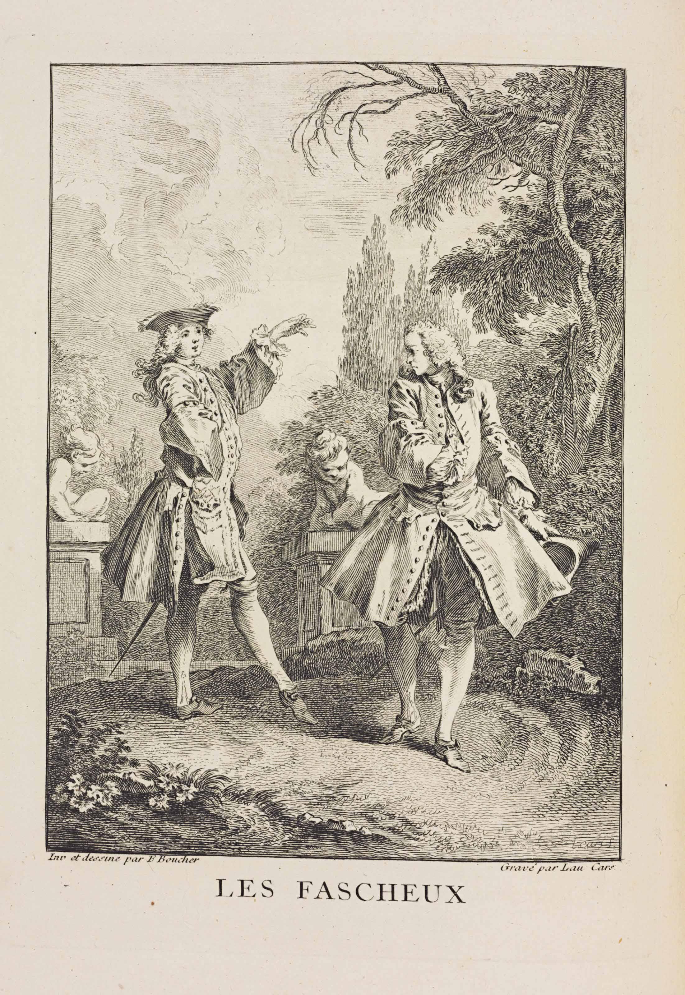 MOLIÈRE, Jean Baptiste Poquelin de (1622-1673). Oeuvres. Paris: [s.n.], 1734.