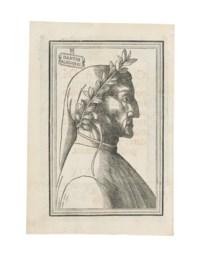 DANTE Alighieri (1265-1321). Comedia. Commentary by Cristoforo Landino. Venice: Jacopo da Borgofranco, for Lucantonio Giunta, 23 January 1529.