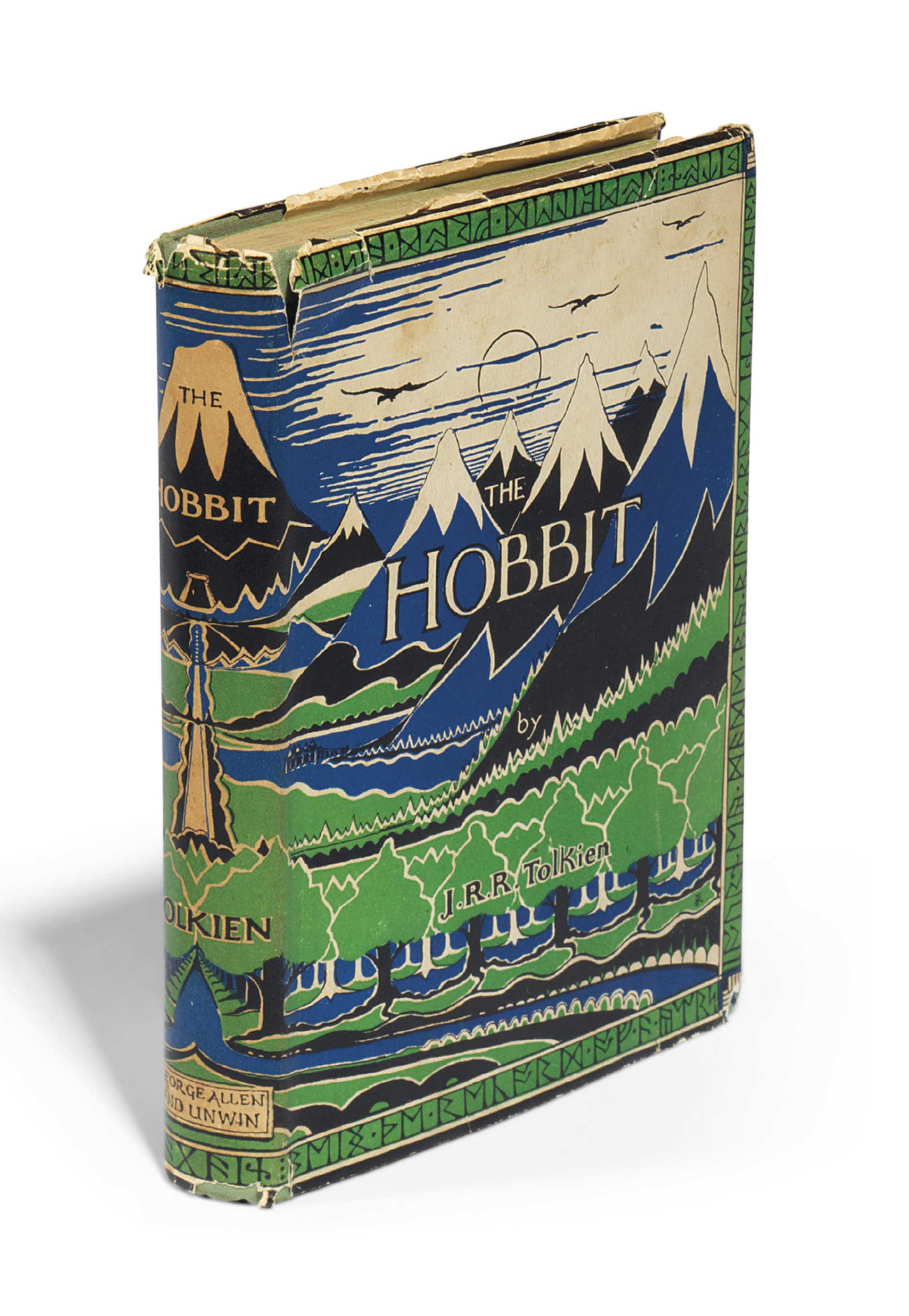 TOLKIEN, John Ronald Reuel (1892-1973). The Hobbit. London: George Allen & Unwin Ltd., 1937.