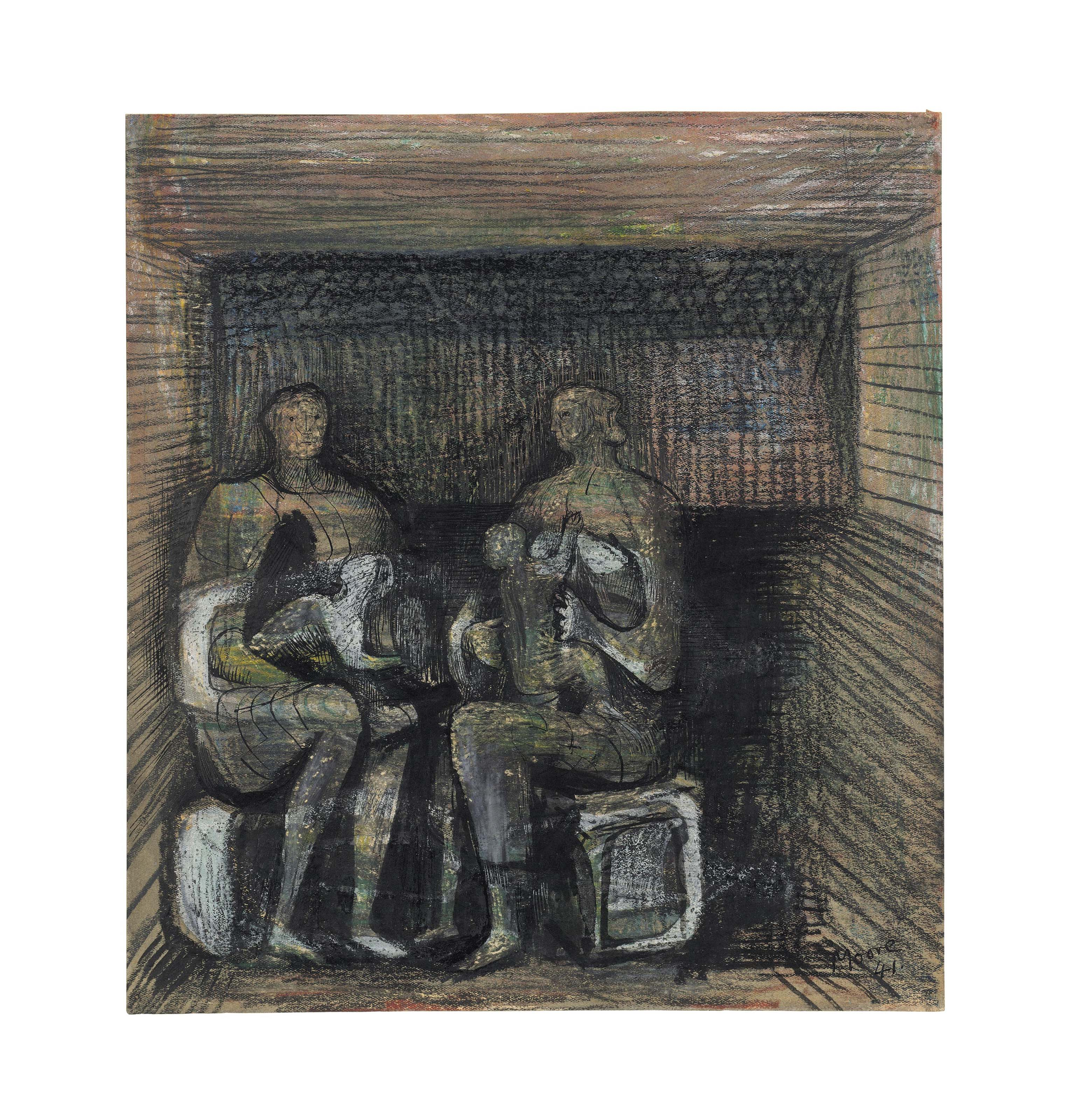 Londons War The Shelter Drawings of Henry Moore