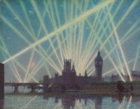 Houses of Parliament - a wartime Nocturne