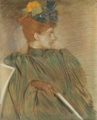 Portrait de Alice, la femme de l'artiste