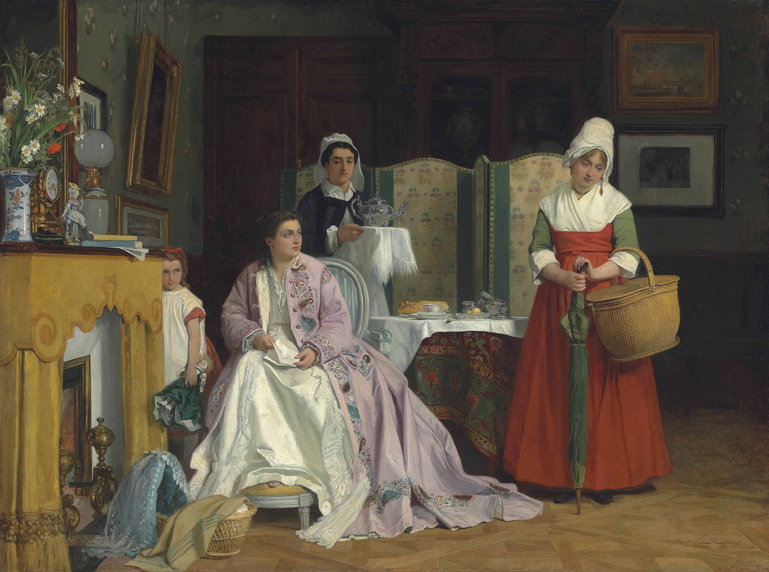 Charles-Louis Baugniet (Belgian, 1814-1886)