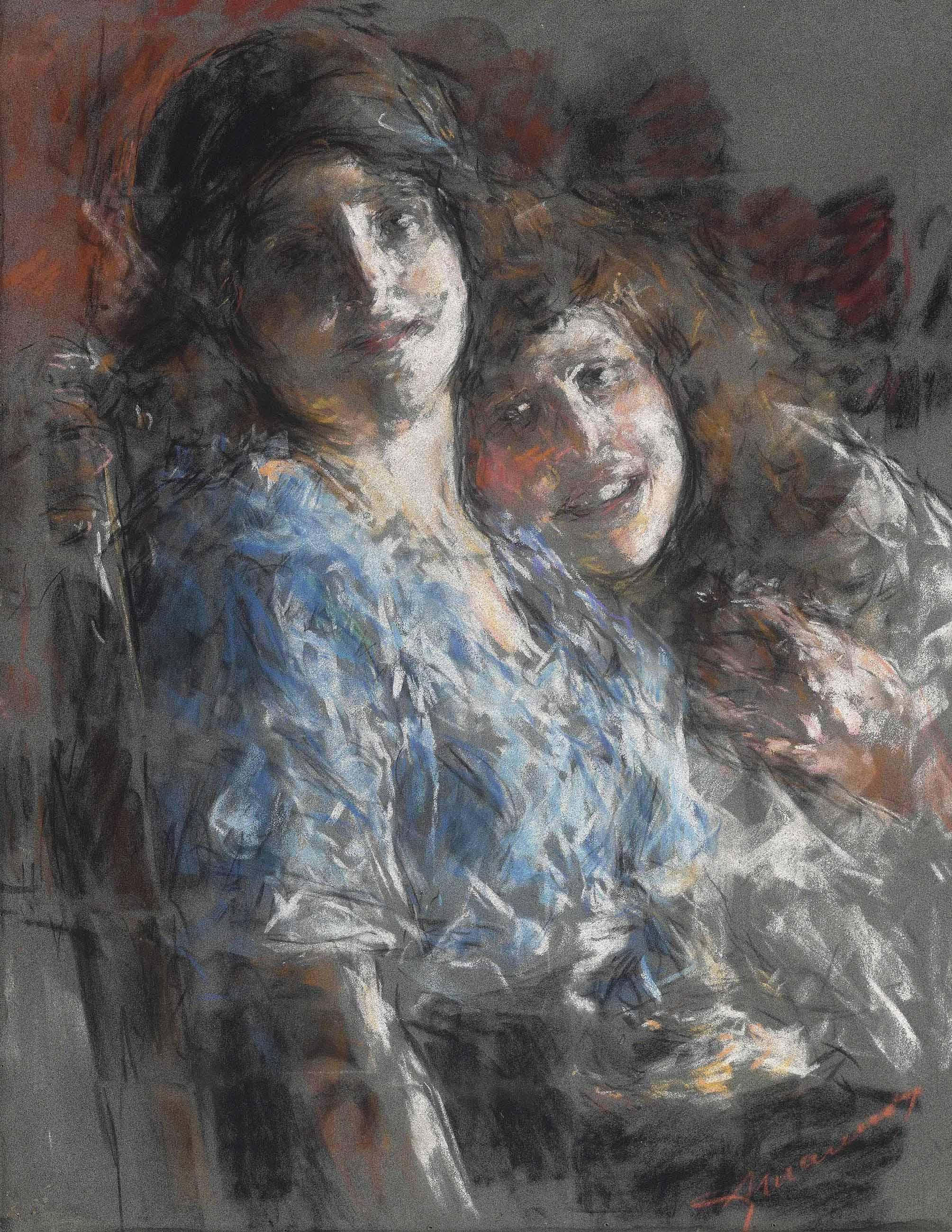 Due figure femminili