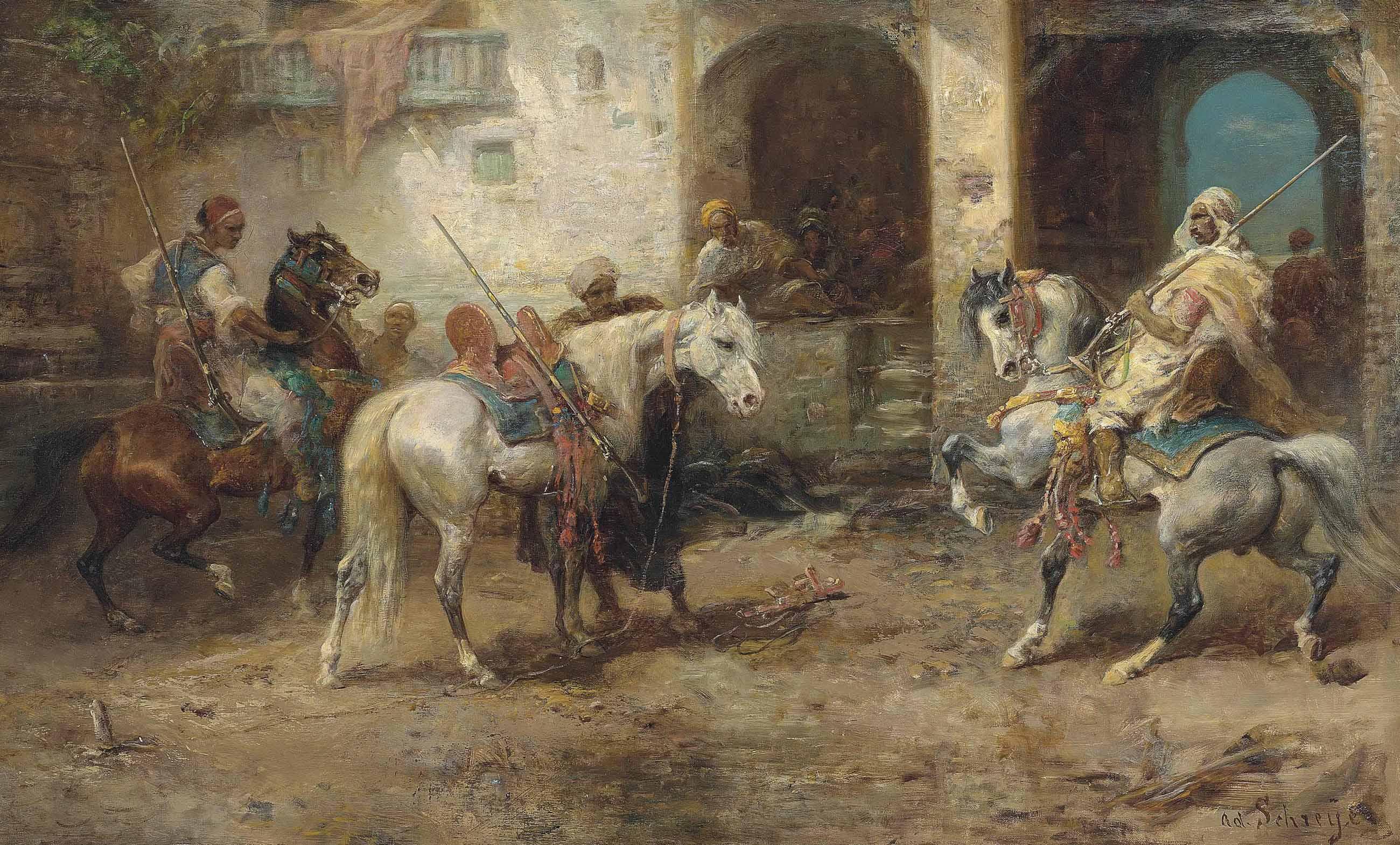Arabian Horsemen