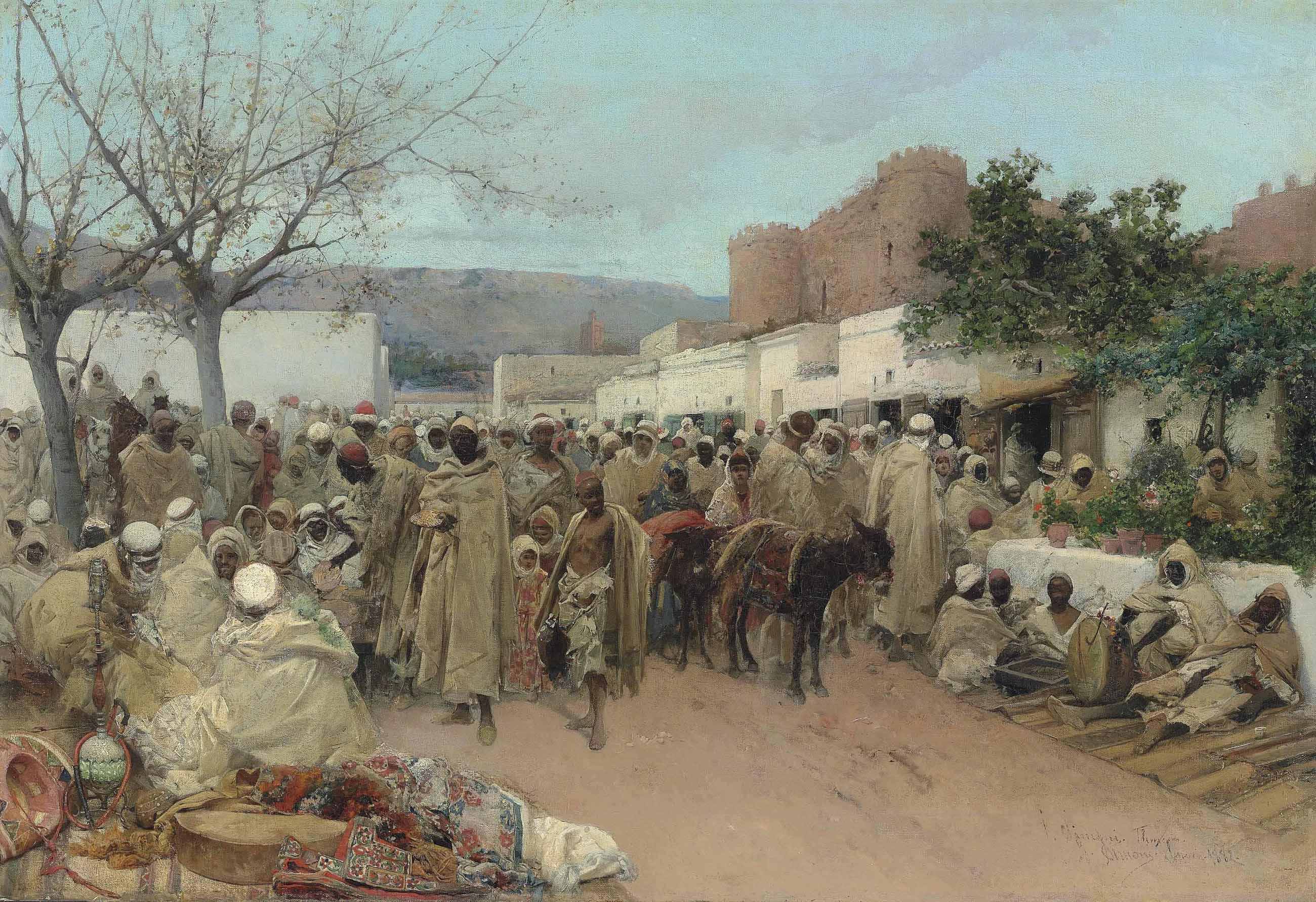 Market day in Tlemcen, Algeria