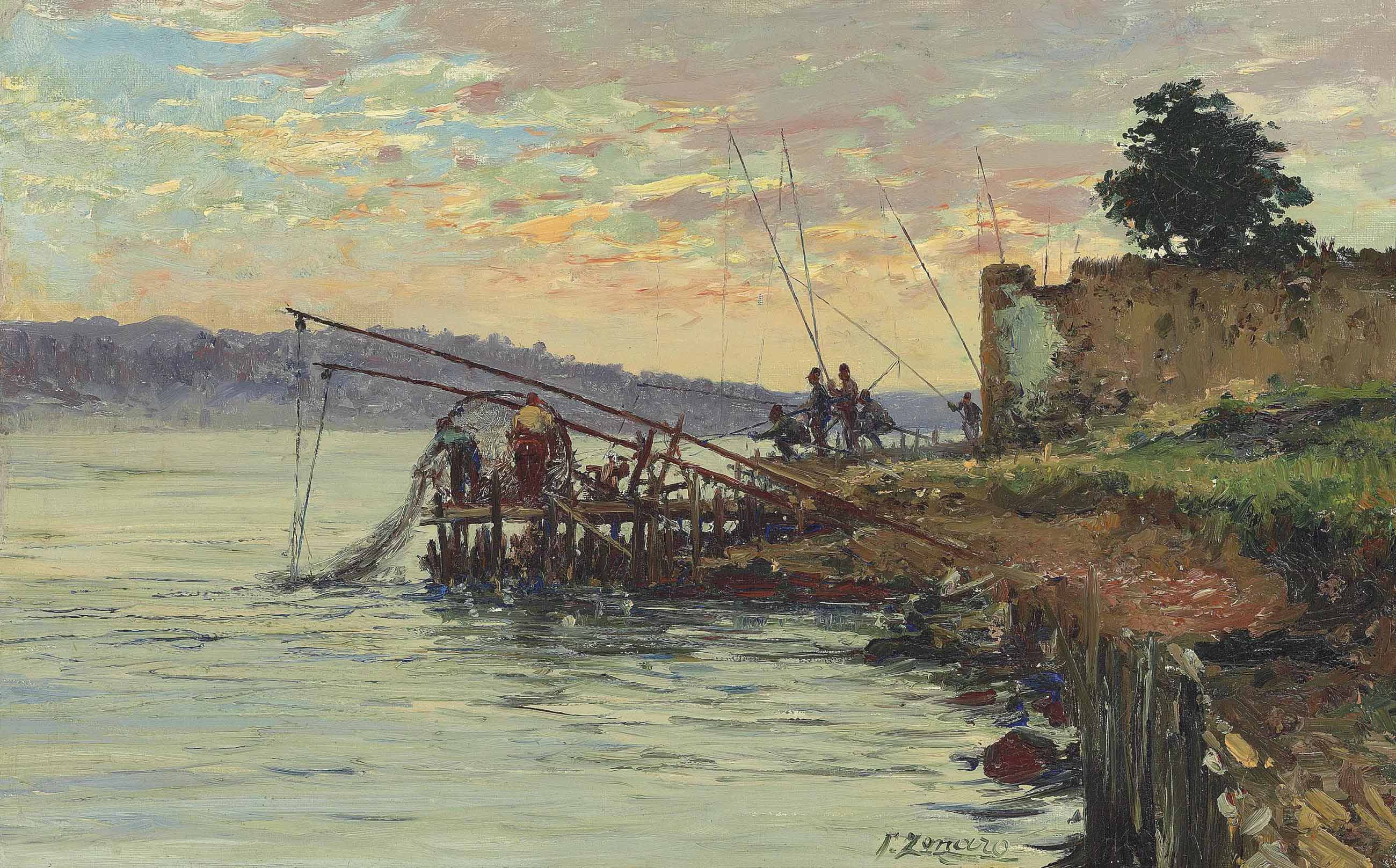 Fishermen by the Bosphorus, Scutari