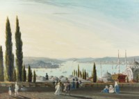 View of the Pera Canal, Constantinople