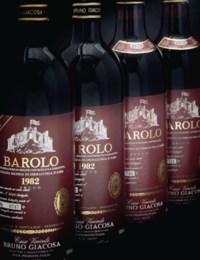 Bruno Giacosa, Barolo, Collina Rionda di Serralunga d'Alba Riserva Speciale 1978 (4) Riserva 1982 (8)