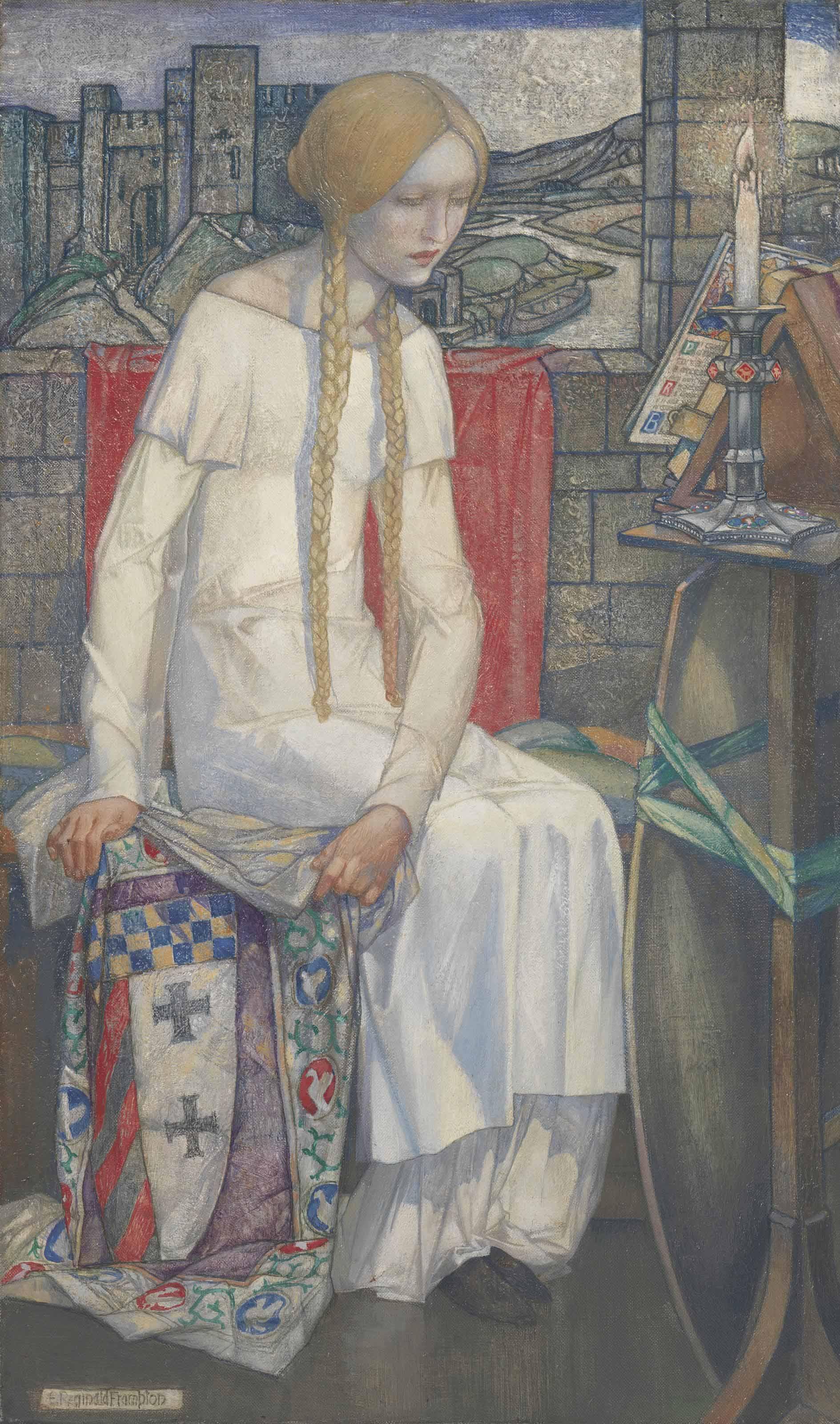 Elaine, the Lady of Shallott