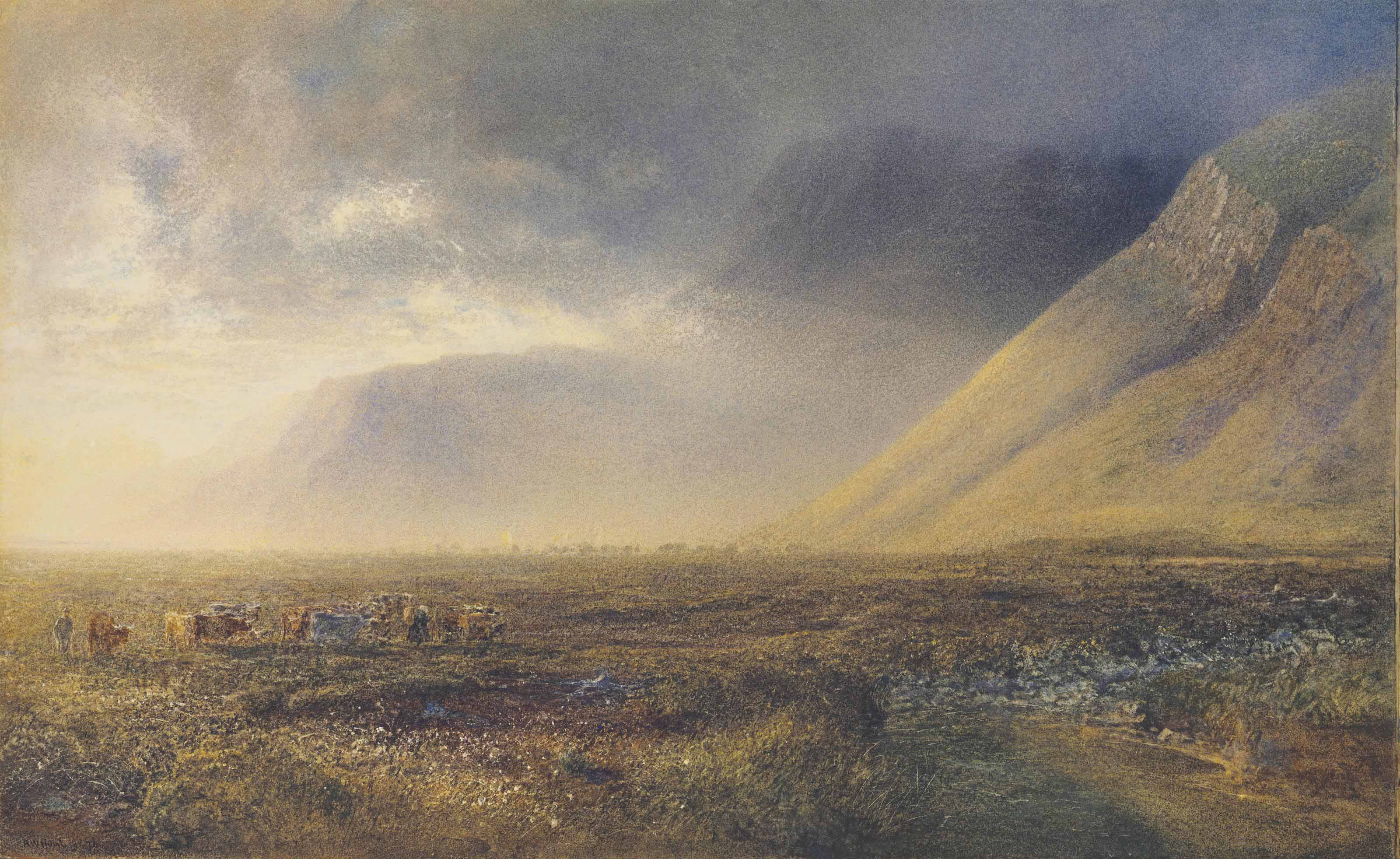 Rising mist, Loch Maree, Highlands