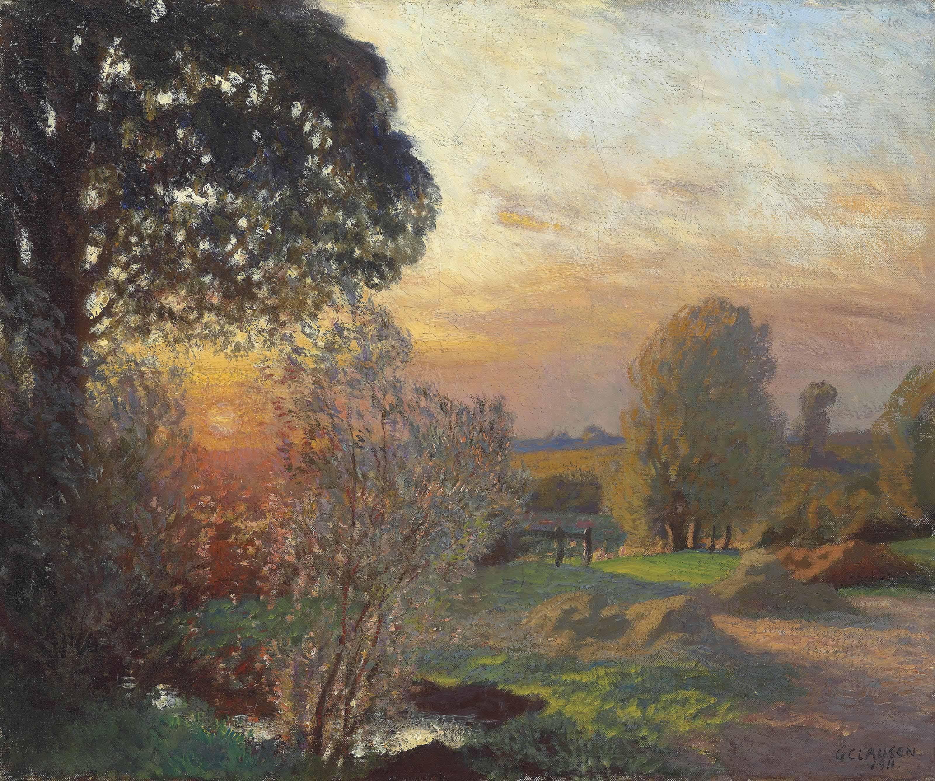 Tranquil Sunset - September