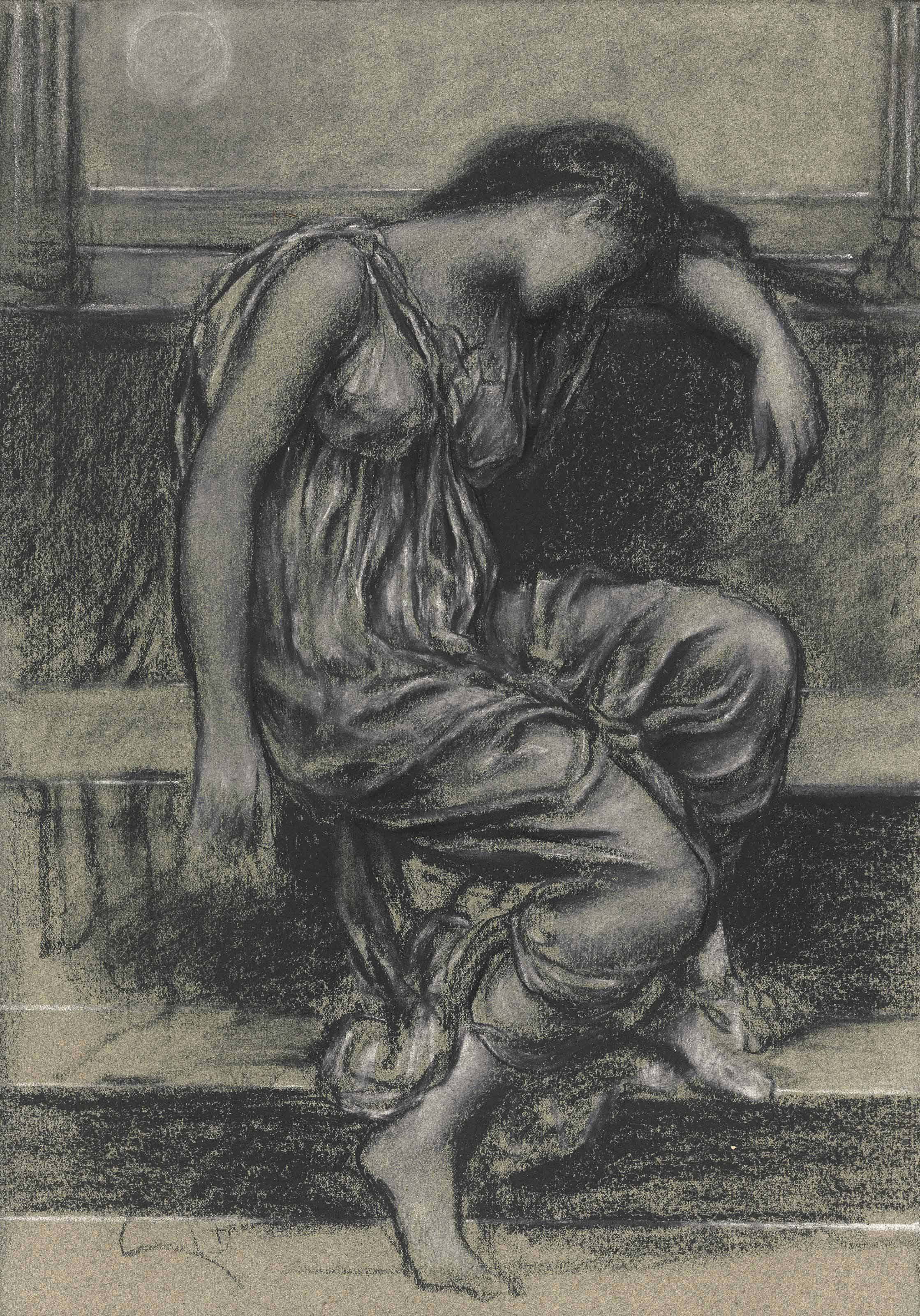 Study for 'In Memoriam'