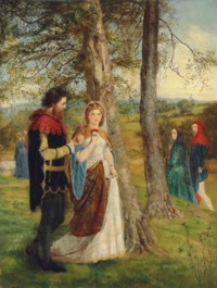 Sir Lancelot and Queen Guinevere