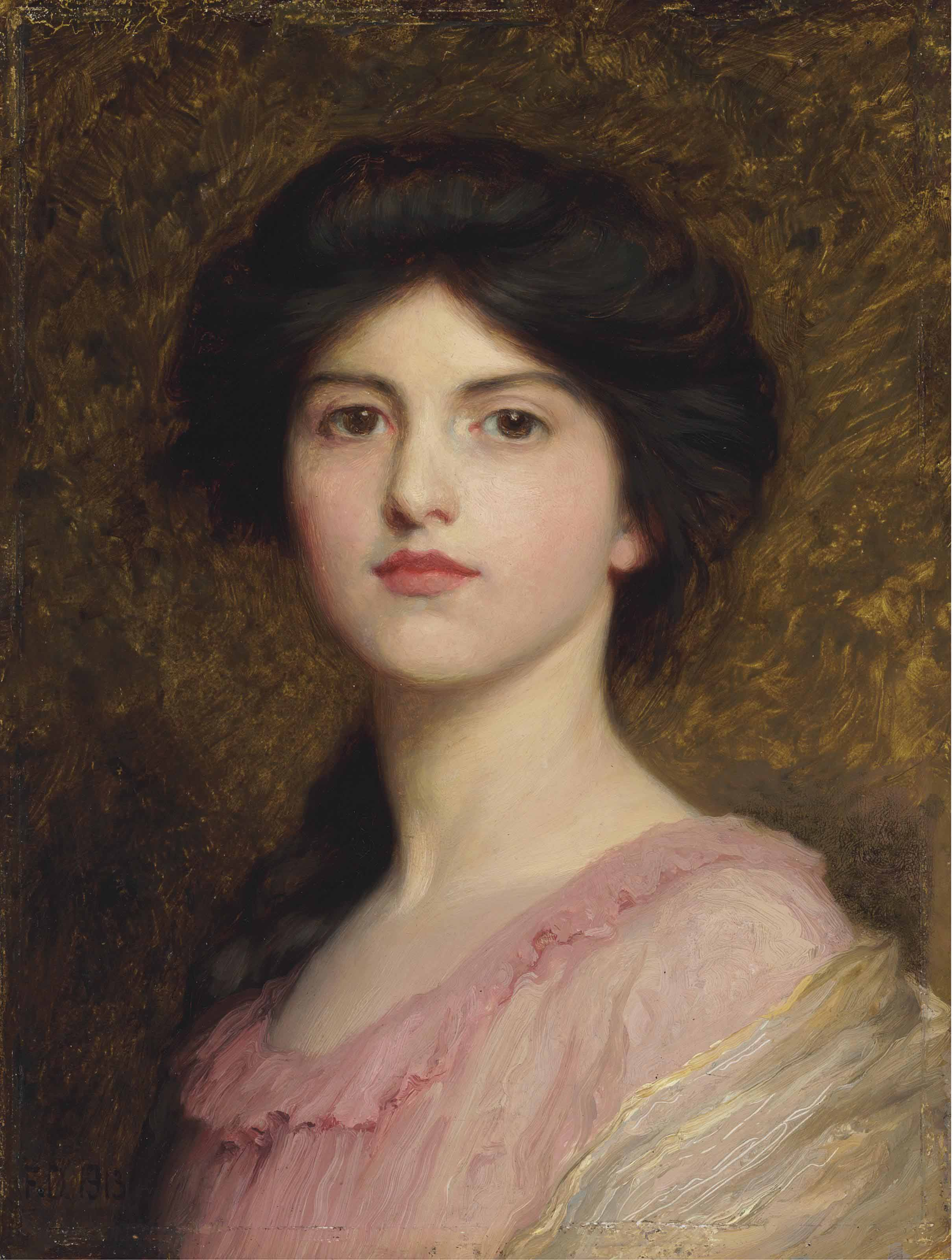 Portrait of Camille, daughter of Sutton Palmer