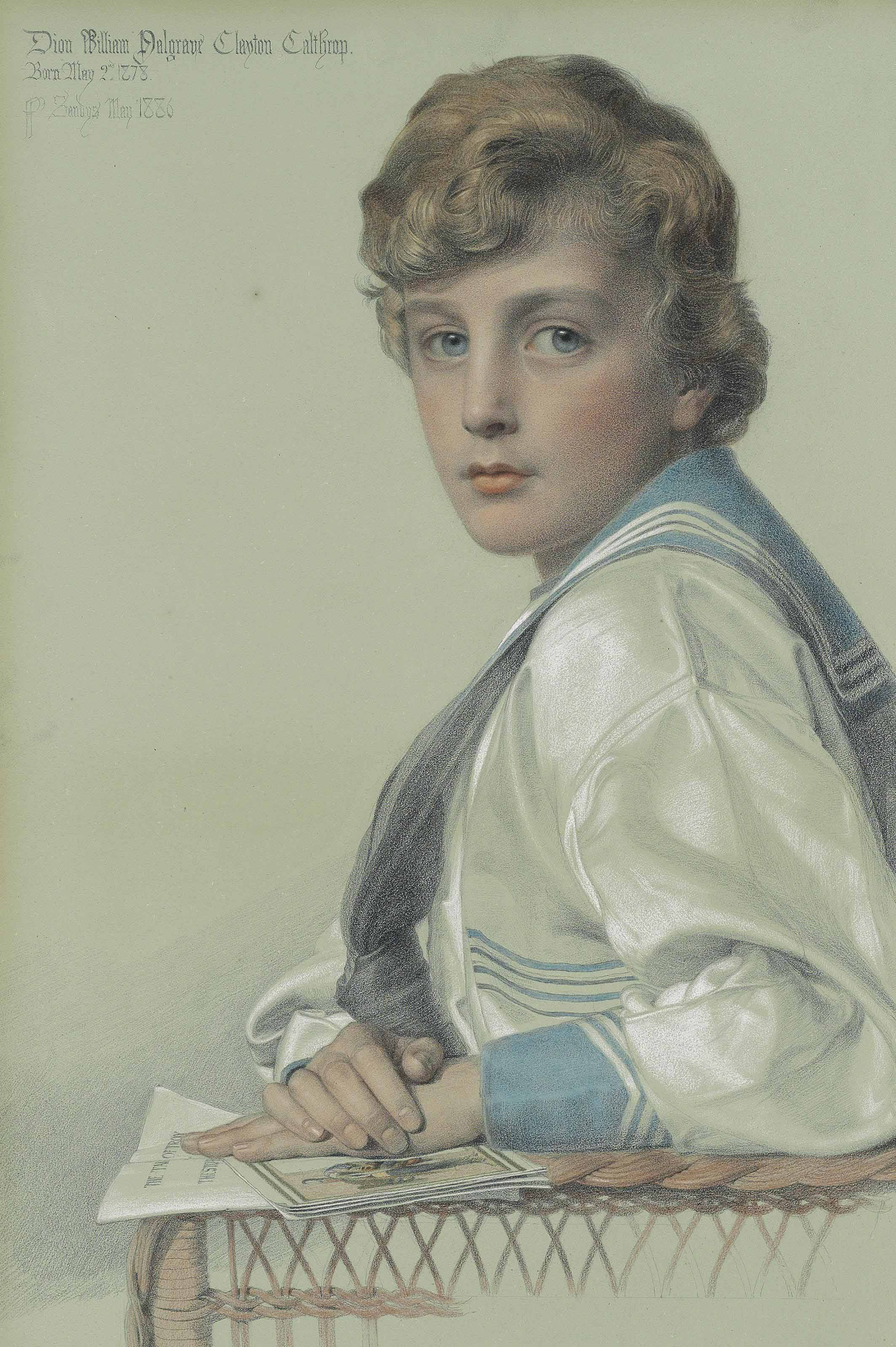 Dion William Palgrave Clayton Calthrop, aged eight